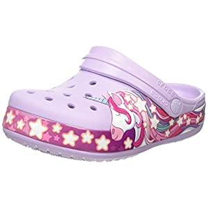 Crocs Kids' Fun Lab Unicorn Clog | Comfortable Slip On Shoes for Kids