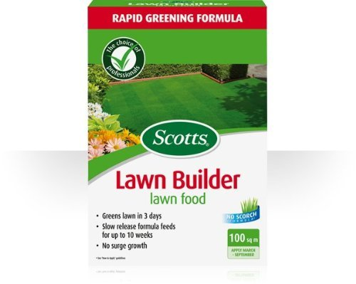 Lawn Feed Scotts Lawn Builder Lawn Food Carton Coverage: 100m2 Lawn Fertilizer