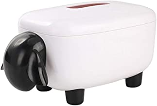 Ktyssp Creative Cartoon Sheep Paper Box Pumping Paper Box Home Toilet Box Reusable Paper Tray