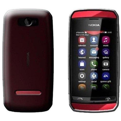 Diva Custodia in Silicone/Silicone Case Nokia Asha 305 / Asha 306 (Nero Trasparente)