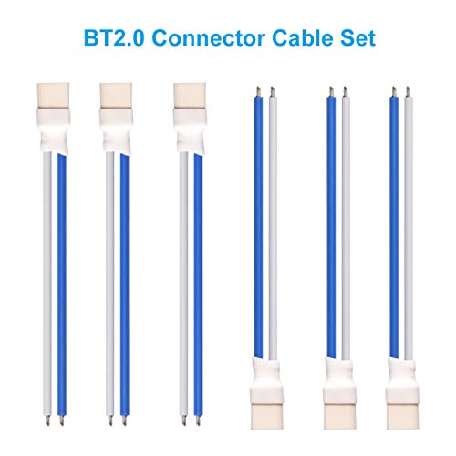 BETAFPV 6pcs BT2.0 Connector 55mm22AWG FPV Male Cable forfor FPV 1S TinyWhoop Drone Blade Inductrix