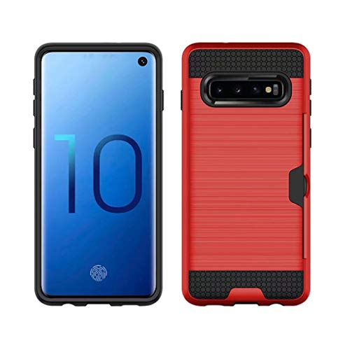 Find Bargain Tuscom Wallet Case Compatible with Galaxy S10, Ultra Slim Hybrid Case with Credit Card ...