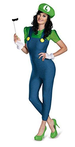 Disguise - CS940103/S - Costume adulte luigi femme deluxe taille s