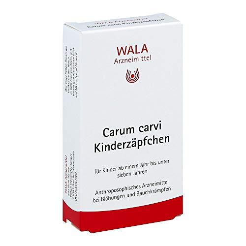 WALA Carum Carvi Kinderzäpfchen, 10 St. Zäpfchen