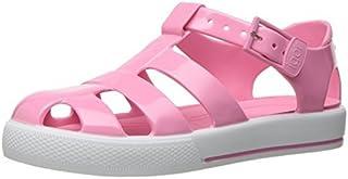 Igor S10164.010 Girls' Tenis Solid Sandal Pink 26 EU(9 M US Toddler) [並行輸入品]