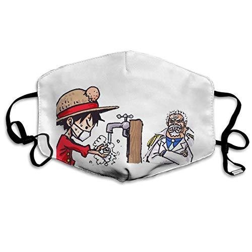 Unisex Mundschutz,Ruffy,Gesichtsschutz Staubschutz Gesichtsschal Atmungsaktive Sturmhaube Für Laufen Outdoor Wandern