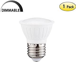 WELLHOME Short Neck Dimmable LED PAR16 Bulb 7Watt Replacement 65Watt Halogen Flood Bulbs,E26 Socket 120 Beam Angle 2700K Warm White LED Wide Flood Light Bulb,120Volt 700Lumen(Pack of 1)