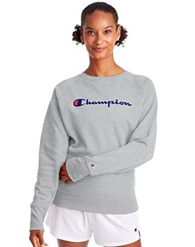 Champion Women's She Just Shines Full Bikini Bottom, Oxford Gray-Y08113, Medium