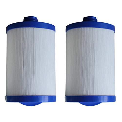 HLL Lay-Z- Spa Jacuzzi Bassin Antimicrobien Cartouche de Remplacement LX-621 Polyester pour de Nombreux modèles de piscines de Massage (2Pack)