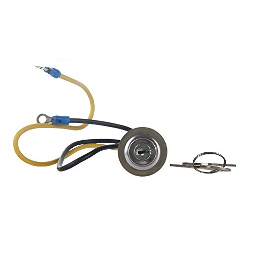 MIDIYA 8N3679C Ford Jubilee Tractor Ignition Switch with 2 Wire 2 Position 2 Keys 2N 8N 9N 4000 6000 641 NAA 501 600 601 700 701 800 801 900 2000 4000 1939-1964 Suitable for Car, Boat, Truck, Tractor