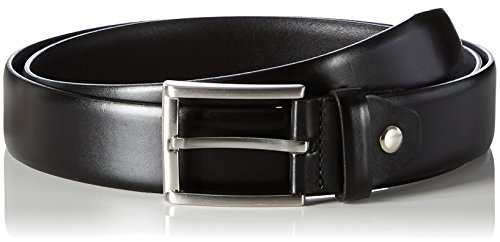 MLT Belts & Accessoires Herren Business-Gürtel London, Schwarz (black 9000), 115 cm