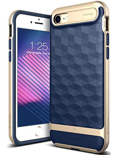 Caseology Parallax Funda para teléfono móvil 11,9 cm (4.7') Oro, Marina -...