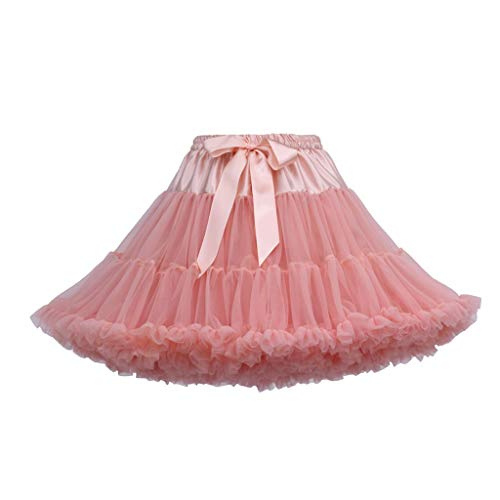 Tütü Damen Tüllrock Mädchen Ballet Tutu Rock Kinder Petticoat Unterrock Ballett Kostüm Tüll Röcke Festliche Tütüs Erwachsene Pettiskirt Ballerina Petticoat Für Dirndl