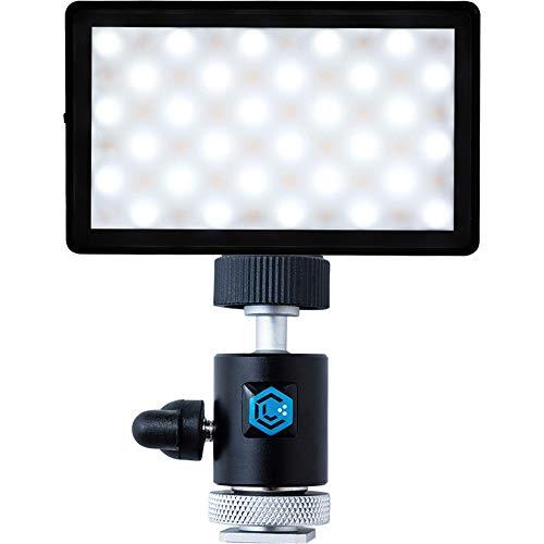 Lume Cube Panel Mini + DSLR Ball Head Mount | Bicolor Continuous LED Video Light | Made for Content Creators | Photo and Video Lighting | Fits Sony, Nikon, Canon, Fuji, Panasonic