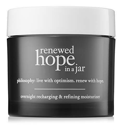 Philosophy Renewed Hope In A Jar Overnight Recharging & Refining Moisturizer for Unisex, 2 Ounce