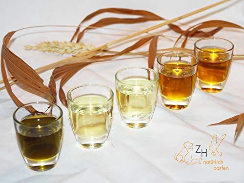 Hitzegrad® Spar-Set Öl, 3 x 100 ml (Lein,Hanf,Lachs) - Ergänzung zum Barf-Menü in Premiumqualität