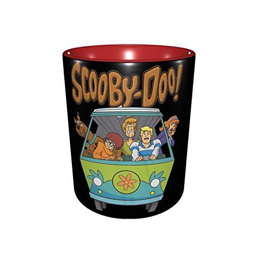 Hdadwy Sc-oo_by-D-oo Family Color Interior Taza de café de cerámica Taza de té Rojo