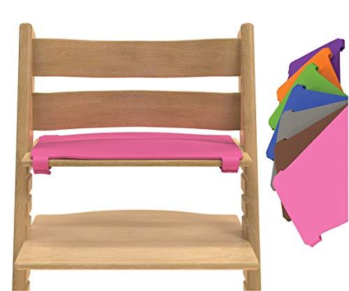 Rosa Hochstuhl Sitzauflage Filz - kompatibel mit Stokke Tripp Trapp (kein Originalzubehör)