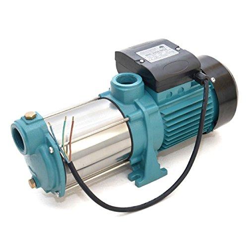 Gartenpumpe 2200 Watt INOX 9600 L/h 5,5bar Hauswasserwerk Kreiselpumpe MHi 2200 INOX