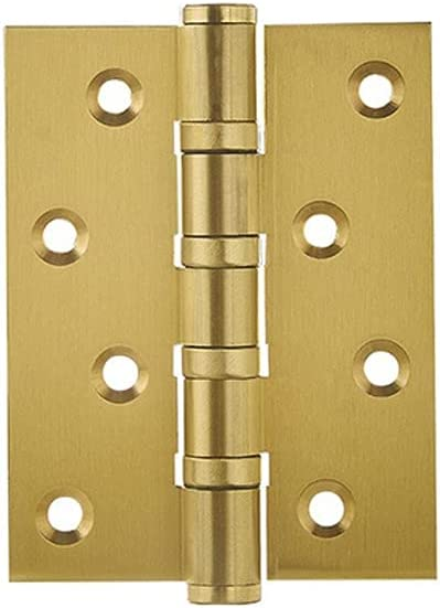 ESsadnkj Long High order Service Life Copper 4 Inch Thicken Hinge Max 66% OFF Household
