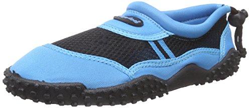 Playshoes Damen Surfschuhe Aqua-Schuhe, Blau (blau 7), 36 EU