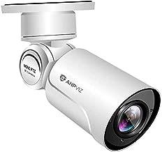 Anpviz 5MP HD Outdoor POE PTZ IP Camera with Audio, 2592x1944P Super HD, 180° Pan 55° Tilt 4X 2.8-12mm Motorized Lens, Onvif, Waterproof Night Vision 130FT, Hikvision/Dahua Compatible(IPC-K35504-S)