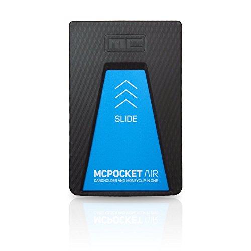 Mcpocket Air Die Geldbörse Einer Neuen Generation Kartenetui Geldklammer Minimal Design Wallet Im Black Diamond Look Unbreakable