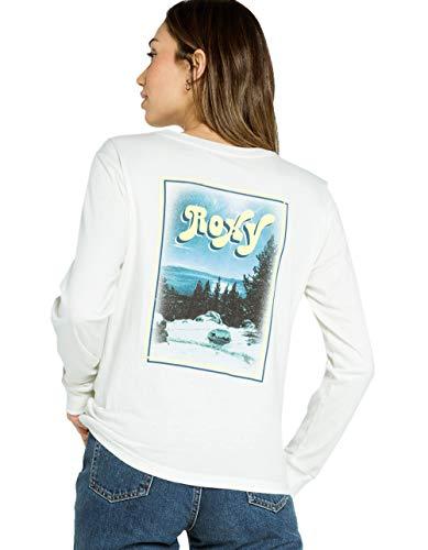 Roxy Mountain Dreams Tee White