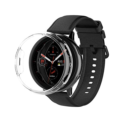 araree Nu:kin, Polycarbonate case for Samsung Galaxy Watch Active 2 (44mm) Crystal Clear case