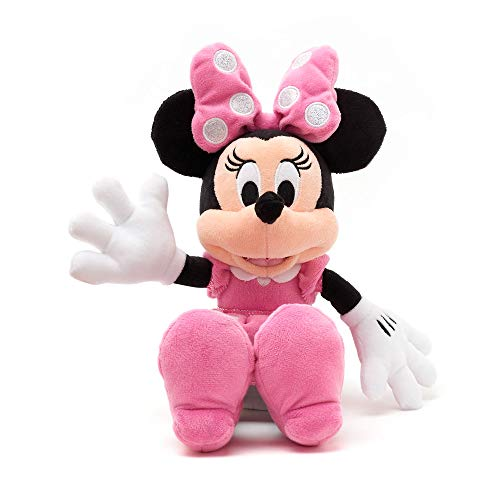Disney Store Minnie Mouse Pink Small Soft Plush Toy - 33cm 13inches made...