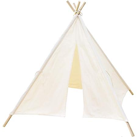 キッズテント 子供テント テントハウス インディアンテント 秘密基地 知育玩具 子供用テント kids tent 睡眠テント お誕生日 出産祝い プレゼント(新型A)