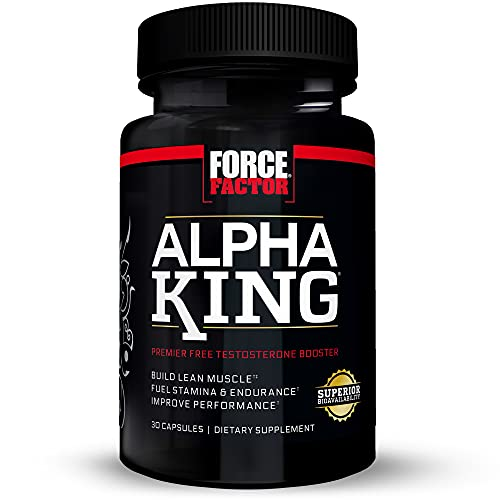 Force Factor Alpha King Testosterone Booster, Increase...