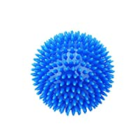 1. Spiky rubber ball toys are great for removing unwanted food particles after meals promoting great dental hygiene. 2. Use this spiky rubber ball toy to play fetch and retrieve games for hours. 3. The dog toy ball is made of high quality thermo-plas...