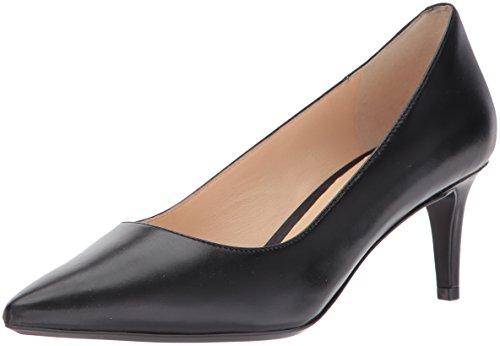 Nine West Women's SOHO Leather, Black, 7.5 Medium US