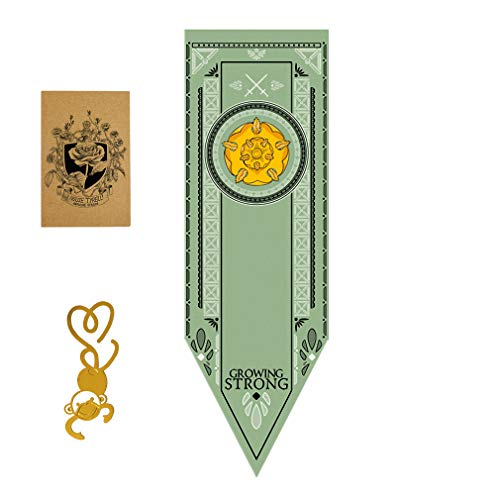 [150CM X 46CM] Game House Banner,Throne House Poster, Tyrell Flag for Bar House Party Decoration