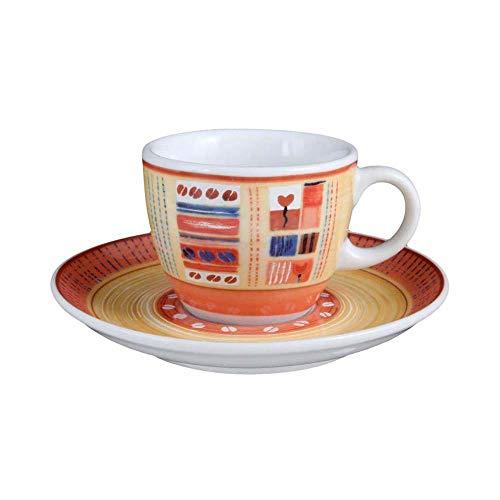 Seltmann VIP. Collection Espressotasse mit Untertasse, Termoli 22126, Creme, 0.09 L, 1-teilig