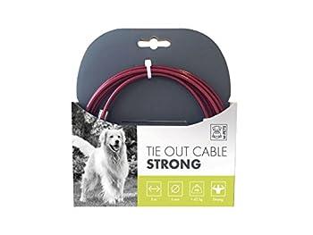 MPETS 10800099 Câble d'Attache Strong pour Chien