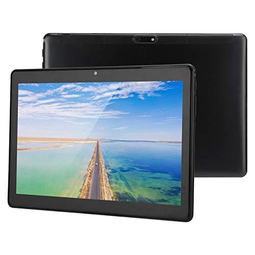 Goshyda Tableta con Tarjeta SIM Dual de Pantalla HD de 10 '', teléfono 3G multifunción de 8 núcleos con 32 GB de ROM + 1 GB de RAM con WiFi de 2.4G / 5G, 100‑240V, Android7.0(EU)