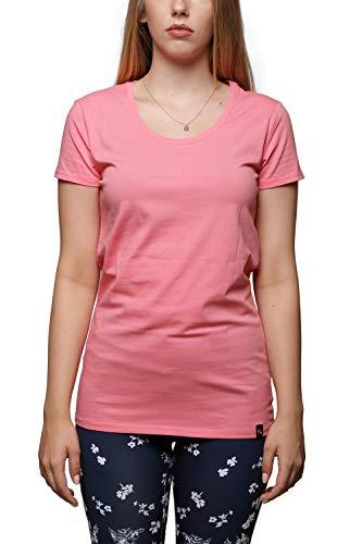 Bogner Fire+Ice Damen T-Shirt Amalia mit Rückendruck, Größe:36, Farbe:Coral