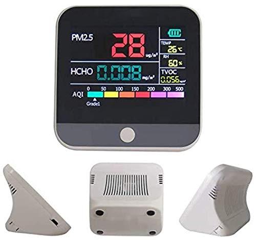 MIZUAN RaumluftmessgeräT Gas Analyzer Pm 2,5 Tvoc Tester Detektor Luft Verschmutzung QualitäT Monitor Diagnose Meter Innen