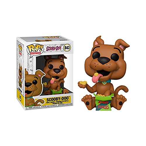 Funko POP! 39053 Scooby-DOO Scooby with Scooby Snacks # 843 Exclusive Special Edition