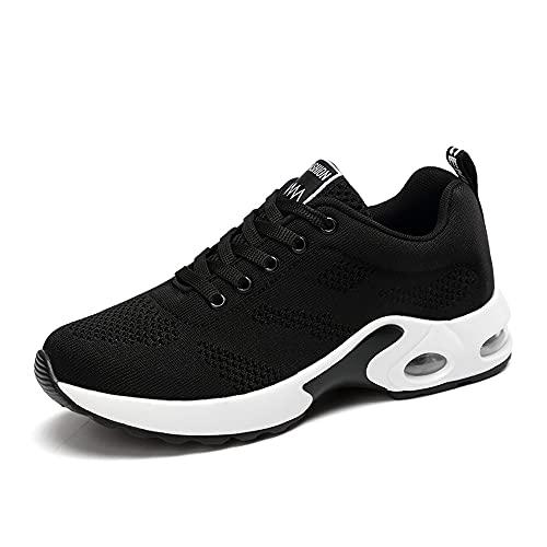 [GoodValue] スニーカー レディース スポーツシューズ ウォーキングシューズ クッションス ランニングシューズ 通気性 軽量 美脚 運動靴