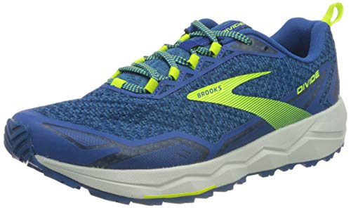 Brooks Divide, Scarpe da Corsa Uomo, Vallerta Blue/Blue/Nightlife, 42 EU