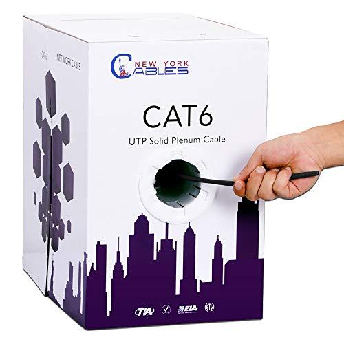 1000 ft cat6 cable plenum - 1