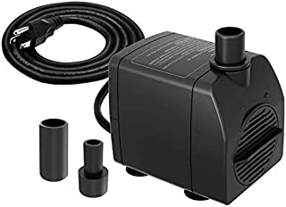 Best outdoor fountain pump with light Reviews