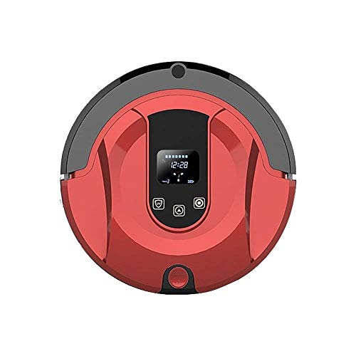 Fantastic Deal! CHUXJ Robot Vacuum Self-Charging Slim & Quiet Automatic Vacuum Cleaner Robot Suitable for Pet Hair, Carpet Hardwood Floors Cleaning Easy to Control