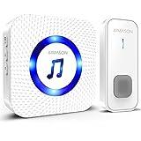 Best Wireless Doorbells - AIMASON Wireless Doorbell, Door Bell Remote Operated at Review
