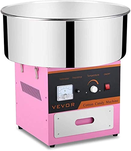 WJHCDDA Azucar para Maquina de Algodon Partido de la máquina de algodón eléctrica Seda del Caramelo ama de casa de la categoría alimenticia de la melcocha Máquina Uso Comercial for Varios Partidos