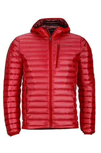 Marmot Quasar Nova Hoody Homme, Team Red, FR (Taille Fabricant : XL)