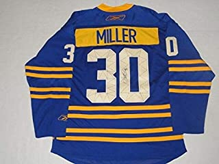Ryan Miller Autographed Signed Reebok Buffalo Sabres Throwback Alternate Jersey Memorabilia JSA